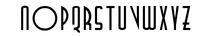 TallDeco Normal Font LOWERCASE