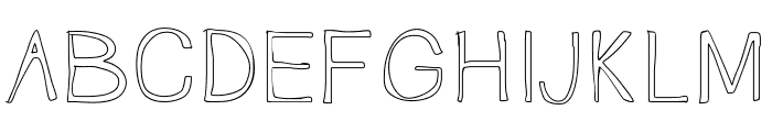 TallNBubbly Font UPPERCASE