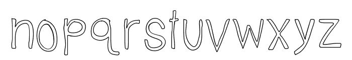 TallNBubbly Font LOWERCASE