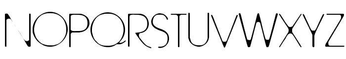 TallTrees-Regular Font UPPERCASE