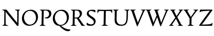 Tallys Font UPPERCASE