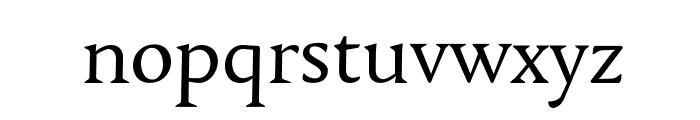 Tallys Font LOWERCASE