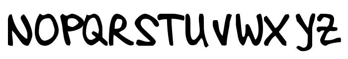 TamaraImbri Font UPPERCASE