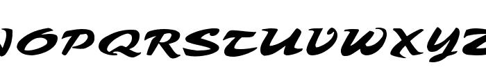 Tambo Script Font UPPERCASE