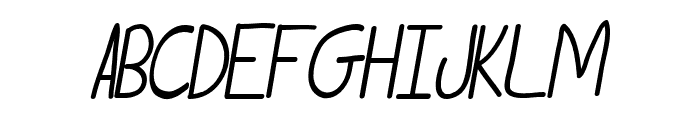 Tammy Italic Font UPPERCASE
