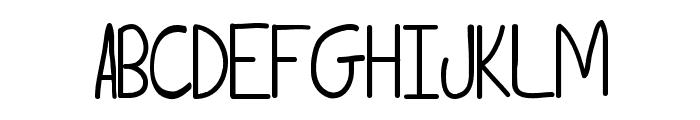 Tammy Font UPPERCASE