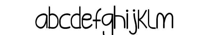 Tammy Font LOWERCASE