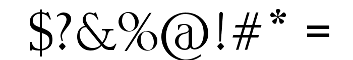 Tangled Font OTHER CHARS