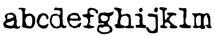 Tango Psychedelia Font LOWERCASE