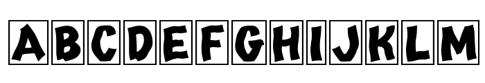 Tango Regular Font UPPERCASE