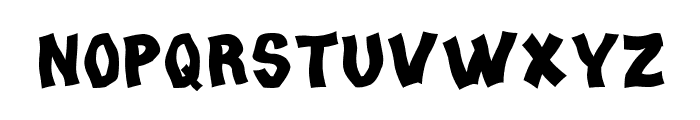 Tango Regular Font LOWERCASE