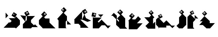 TangramBam Font LOWERCASE