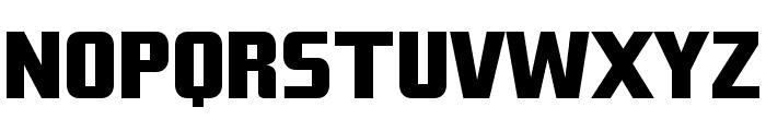 Tank Junior Font UPPERCASE
