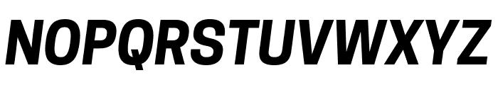 Tanohe Sans Bold Italic Font UPPERCASE