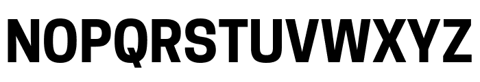 Tanohe Sans Bold Font UPPERCASE