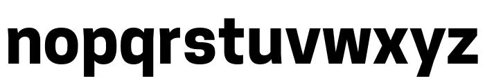 Tanohe Sans Bold Font LOWERCASE