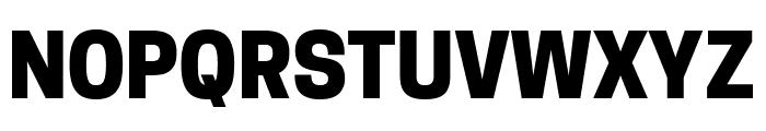 Tanohe Sans ExtraBold Font UPPERCASE