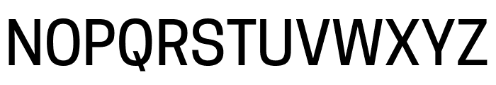 Tanohe Sans Medium Font UPPERCASE