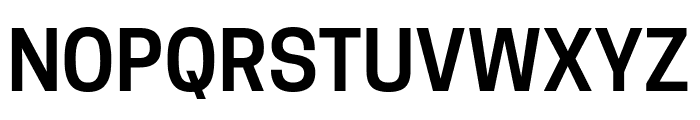 Tanohe Sans SemiBold Font UPPERCASE
