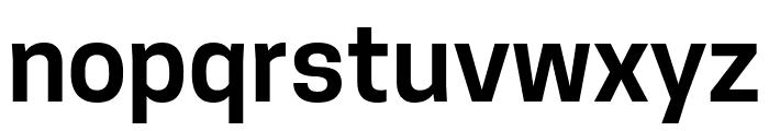 Tanohe Sans SemiBold Font LOWERCASE