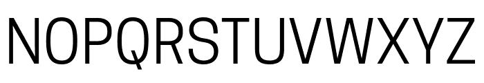Tanohe Sans Font UPPERCASE