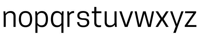 Tanohe Sans Font LOWERCASE