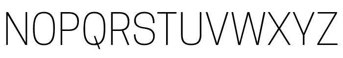 TanoheSans-ExtraLight Font UPPERCASE