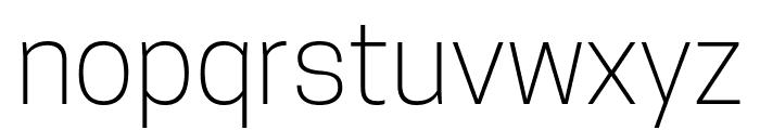 TanoheSans-ExtraLight Font LOWERCASE