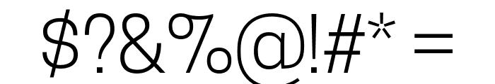 TanoheSans-Light Font OTHER CHARS