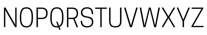 TanoheSans-Light Font UPPERCASE