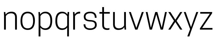 TanoheSans-Light Font LOWERCASE