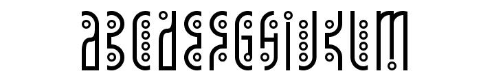 Tantrum Tongue Font LOWERCASE