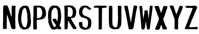 Tanuki Permanent Marker Font UPPERCASE