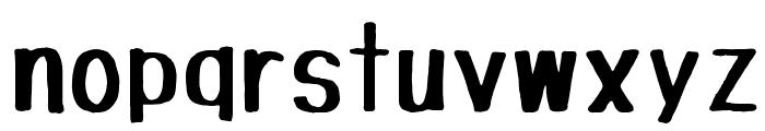 Tanuki Permanent Marker Font LOWERCASE