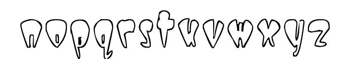Taper Font LOWERCASE