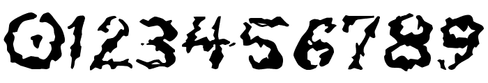 Tar Pits Font OTHER CHARS