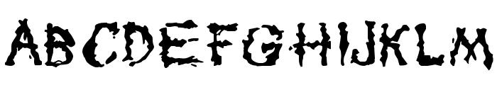 Tar Pits Font UPPERCASE