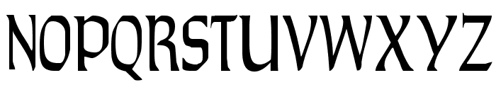 TaraType Font UPPERCASE
