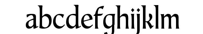 TaraType Font LOWERCASE