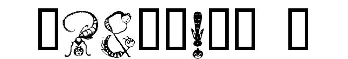Tarantella Display Font OTHER CHARS