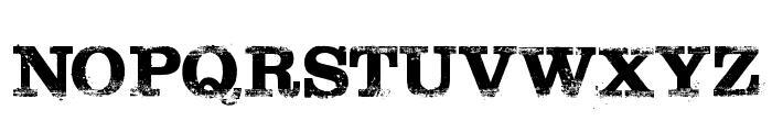 Tarantino Font UPPERCASE