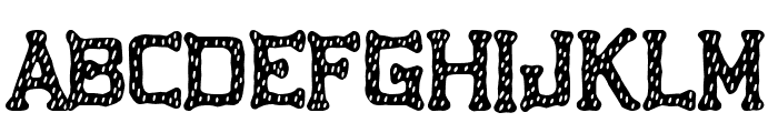 Tarraco City Font LOWERCASE