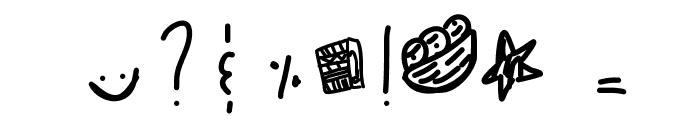 TarracottaWarrior Font OTHER CHARS