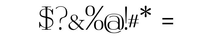 TartlersEndKrystal Font OTHER CHARS