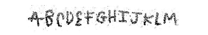 TasteBomb Font UPPERCASE