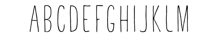 TastyBirds-Sans Font UPPERCASE