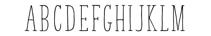 TastyBirds Font UPPERCASE