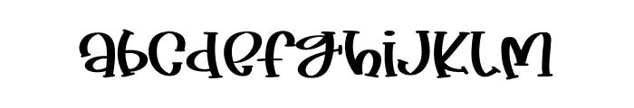 TastyFoodRegular Font UPPERCASE