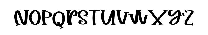TastyFoodRegular Font LOWERCASE