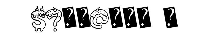 TastySundae Font OTHER CHARS